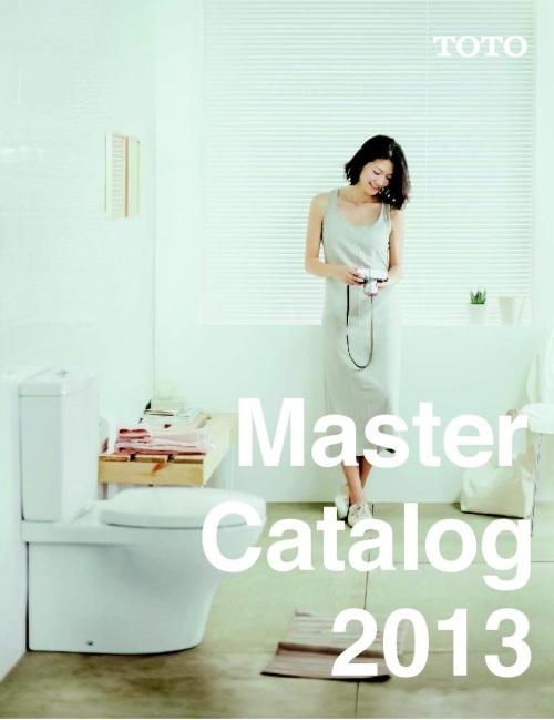 Sampul TOTO Master Catalog 2013