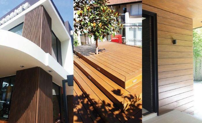 Contoh Penggunaan Wood Plastic Composite