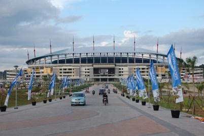 Tampak Depan Stadion